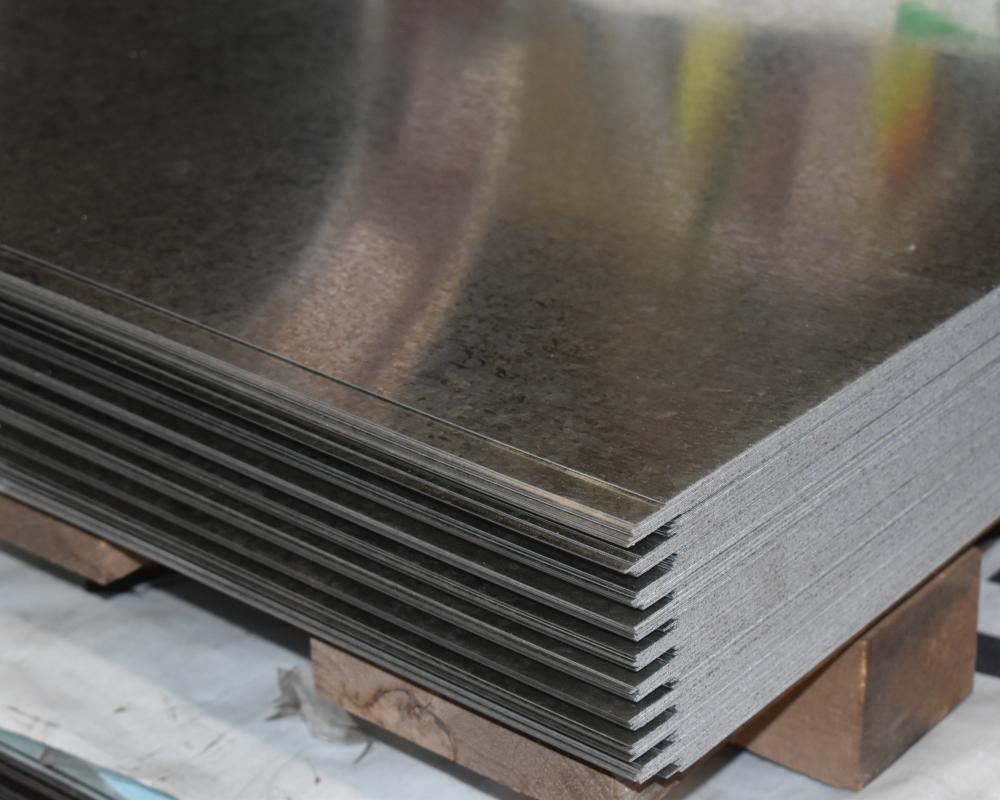 corte de lamina galvanizada