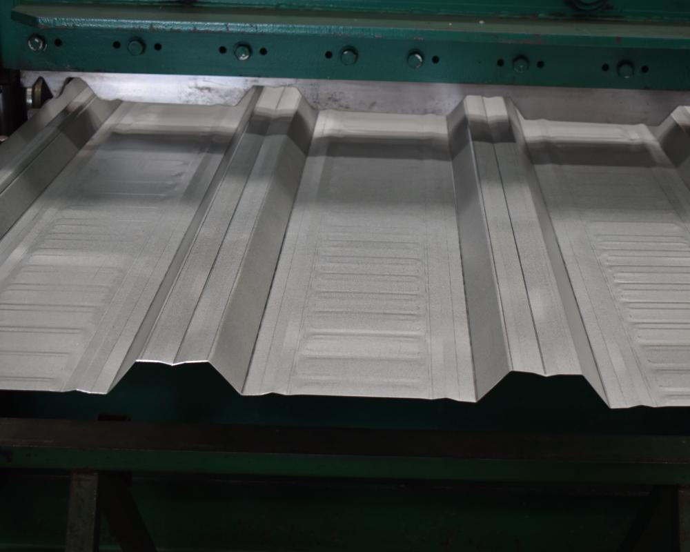producción de lamina de losacero